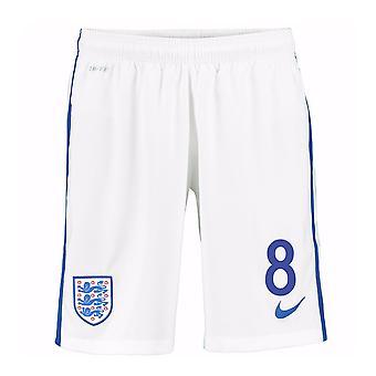 2016-17 England Home Shorts (8) - Kids
