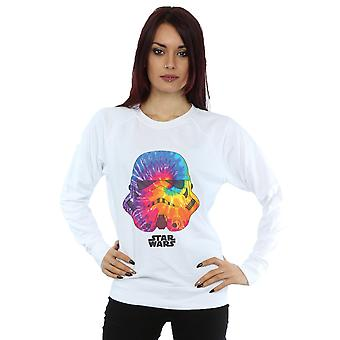 Star Wars Women's Stormtrooper Saturn Helmet Sweatshirt