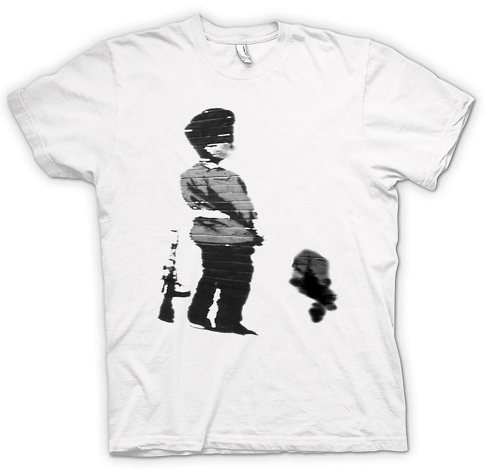 T-shirt Femmes - Art Graffiti Banksy - Soldier