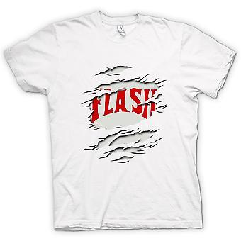 Mens T-shirt - Flash Gordon - Ripped Effect