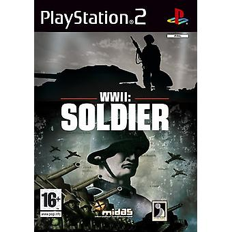 WWII Soldier (PS2) - Factory Sealed