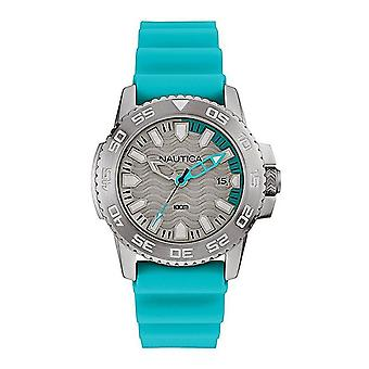 Nautica mens watch wristwatch NAI12531G silicone