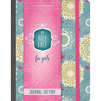 NIV Holy Bible For Girl - Journal Edition-Turquoise