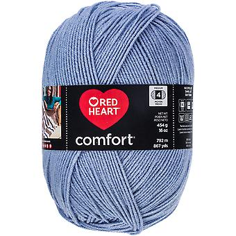 Red Heart Comfort Yarn-Ice Blue