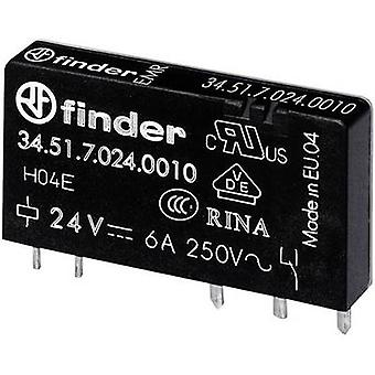 Finder 34.51.7.005.0010 PCB relays 5 Vdc 6 A 1 change-over 1 pc(s)