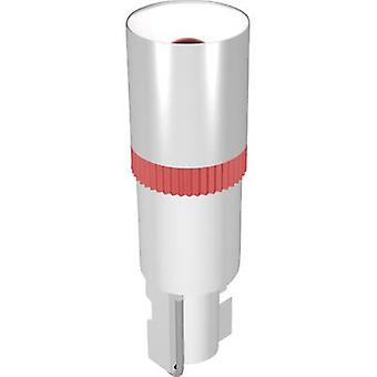 LED bombilla W2 x 4,6 d verde 12 Vdc 100 mcd señal construir MEDW4622