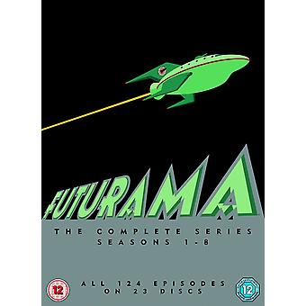 Futurama - seizoen 1-8-DVD Box Set