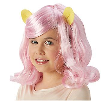 MLP Fluttershy peluca para niño mi pequeño pony