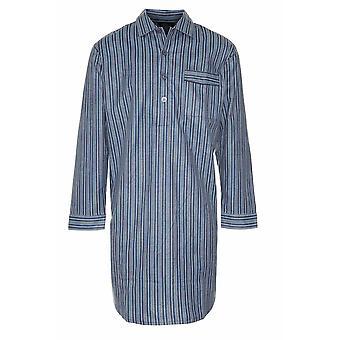 Mistrz mężczyźni szczotkowanej bawełny Koszula nocna (opakowanie 2)