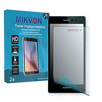 Huawei Ascend P7 Screen Protector - Mikvon Armor Screen Protector (Retail Package with accessories)