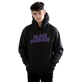 Black Sabbath Männer Distressed Logo Hoodie