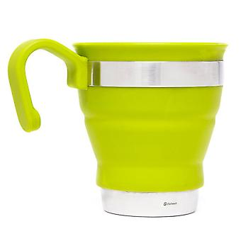 New OUTWELL Collaps Mug Camping Cooking Eating Green