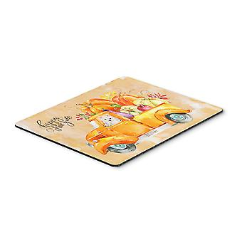 Carolines Treasures  CK2653MP Fall Harvest Westie Mouse Pad, Hot Pad or Trivet