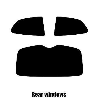 Pre cut window tint - Hyundai Accent 3-door Hatchback - 2006 to 2011 - Rear windows