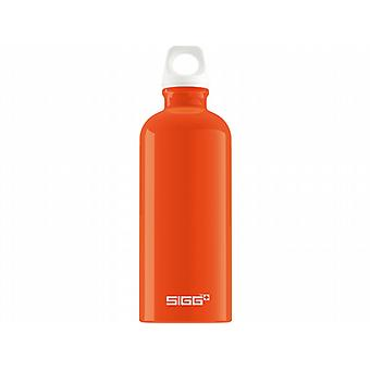 Sigg Traveller Fabulous 0.6L Bottle (Orange)