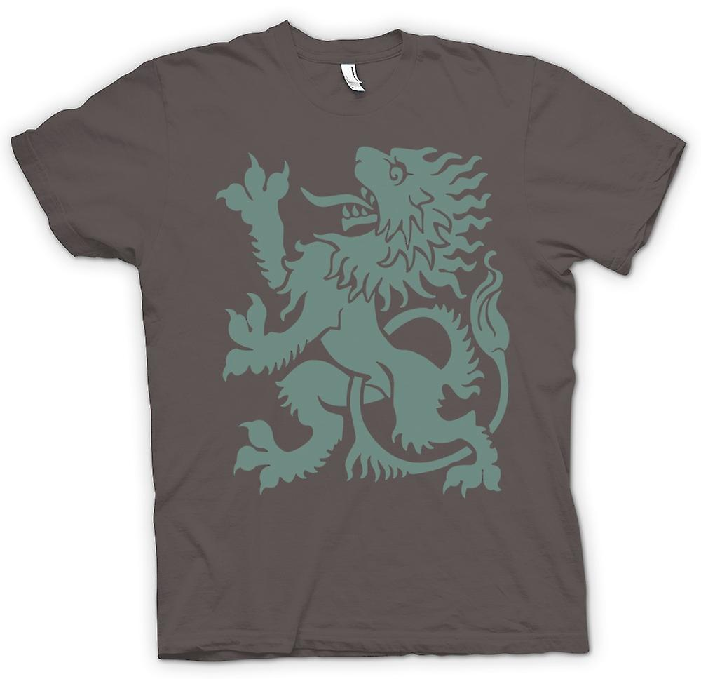 Heren T-shirt - Welsh Dragon - Heraldy - Cool