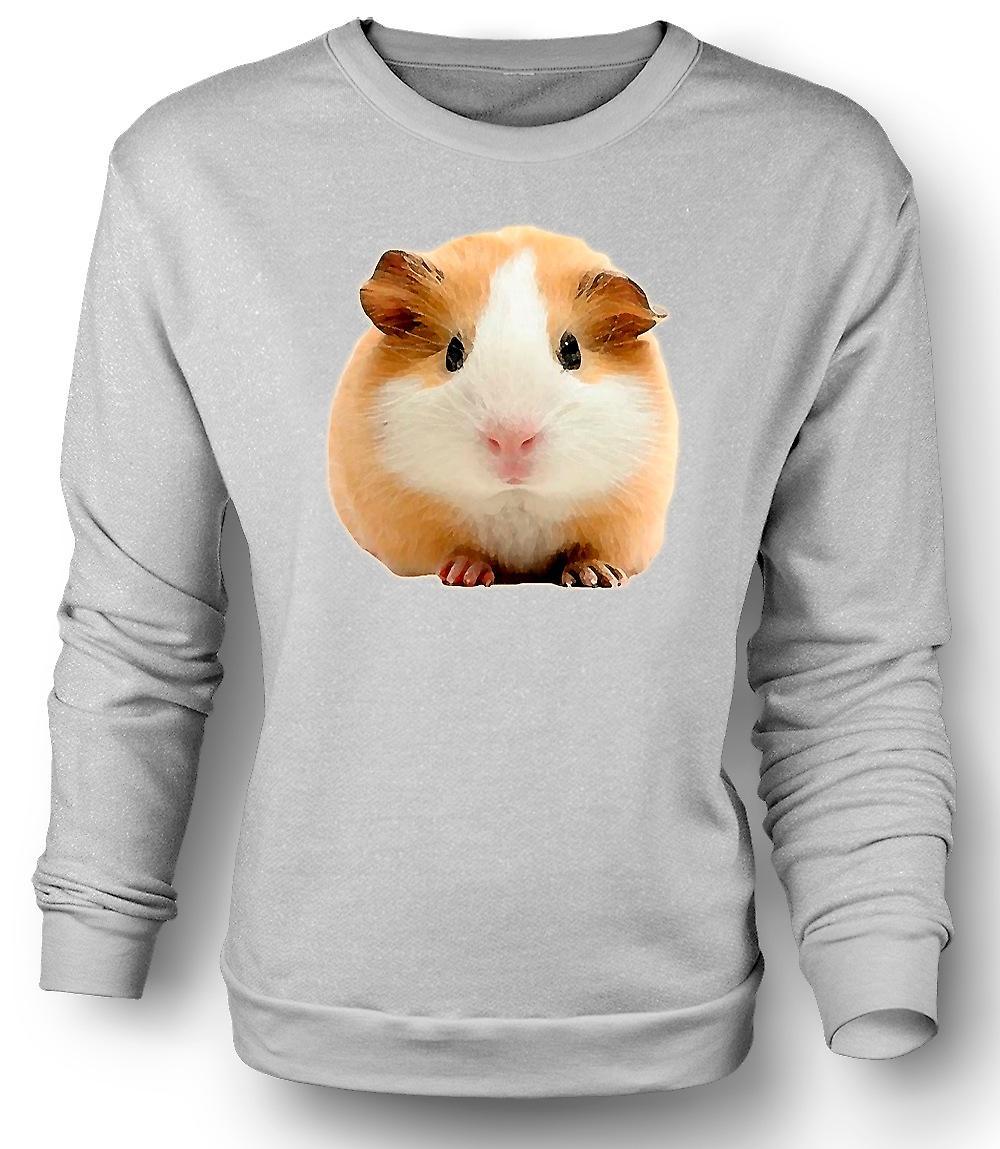 Mens Sweatshirt Guinea Pig 1 - Pet animal
