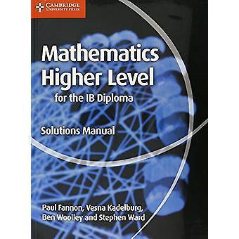 الرياضيات لدبلوم IB الحلول مستوى أعلى الدليل بول