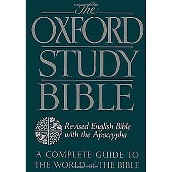 La Bible d'étude de Oxford: La Bible anglaise révisée avec Apocrypha