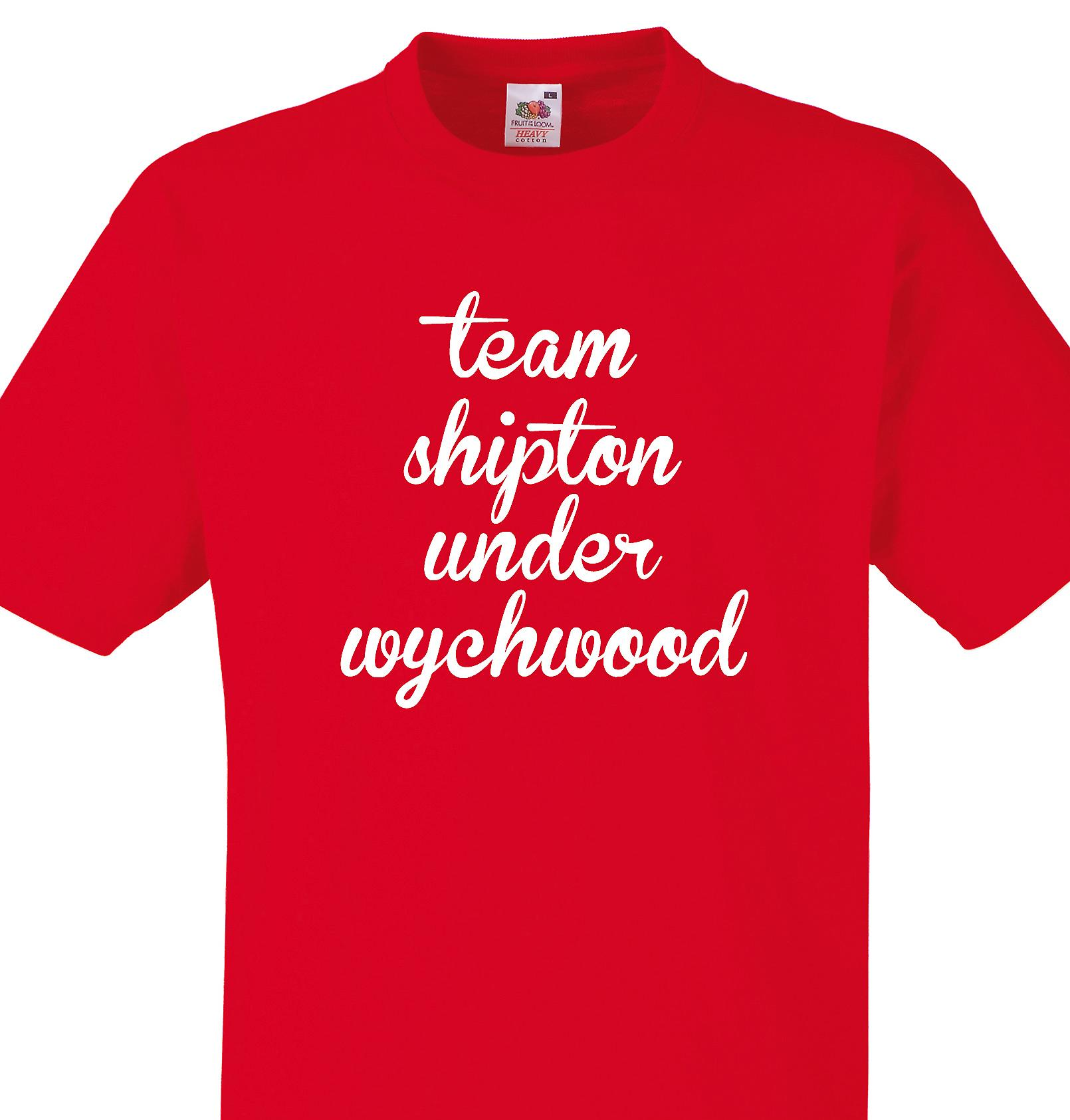 Team Shipton under wychwood Red T shirt