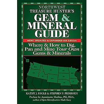 Nordwesten Treasure Hunter-s Gem & Mineral Guides in die USA, 6. Auflage