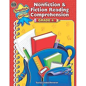Non-fictie & begrijpend lezen de fictie, Grade 4 (oefening baart kunst