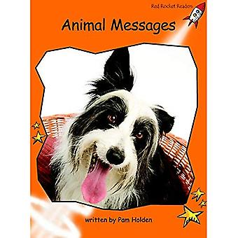 Animal Messages: Level 1: Fluency (Red Rocket Readers: Non-fiction Set B)