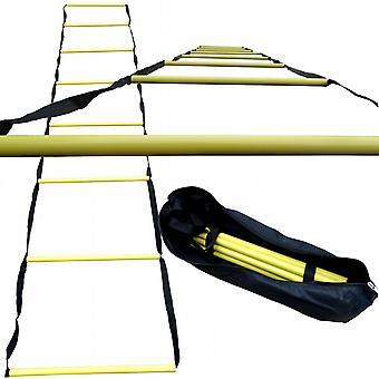 BodyRip 3.3m Agility Training Speed Ladder in Carry Bag