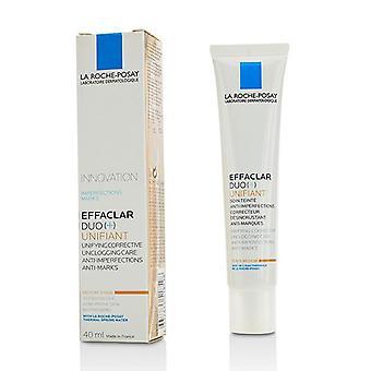 La Roche Posay Effaclar Duo (+) Unifiant Unifying korrigerande Unclogging vård mot ojämnheter anti märken - Medium - 40 ml/1,35 oz