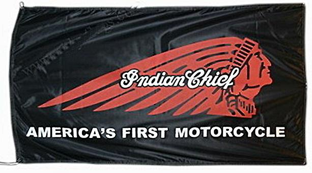 Large Indian Chief flag 1500mm x 900mm