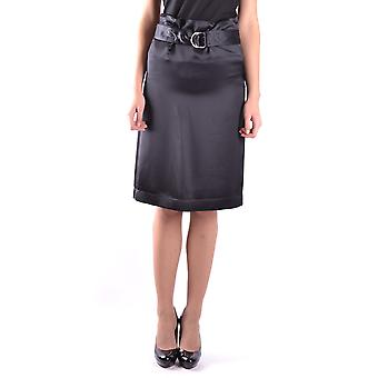 Céline Black Viscose Skirt