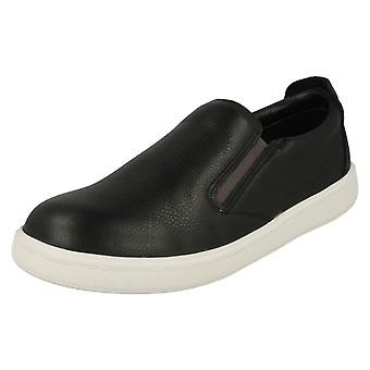 Boys Clarks Slip On Shoes Street Verve K