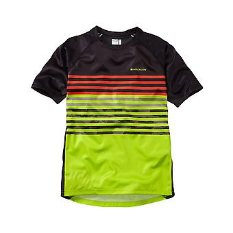 Madison Black-Krypton calce 2017 Zen Kids MTB manica maglia corta