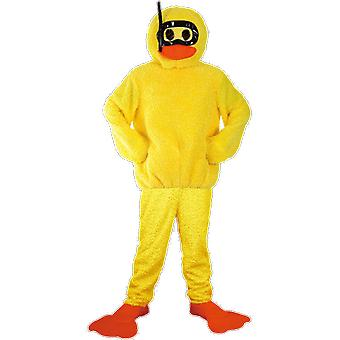 Orion Costumes Unisex Géant Yellow Bath Duck Stag Do Funny Novelty Fancy Dress