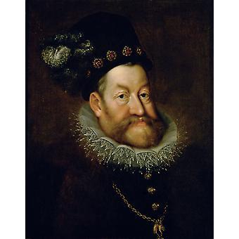 Keiser Rudolf II AACHEN, Hans von, 50x40cm