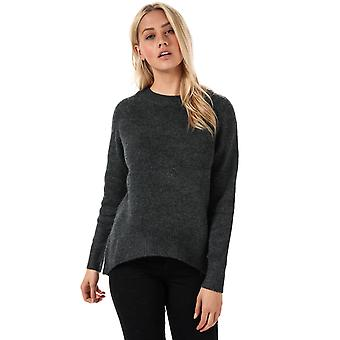 Womens Only Orleans Jumper In Dark Grey Melange