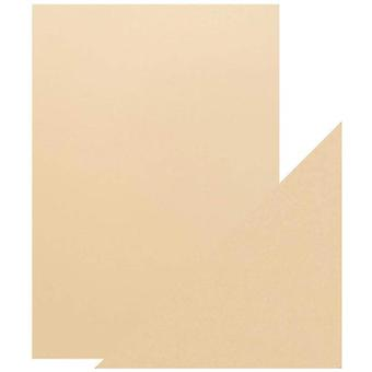 Craft Perfect Tonic Studios A4 Pearlescent Card Ivory Sheen Pack of 5