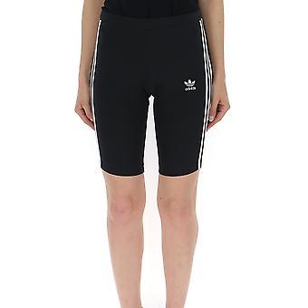 Adidas Black Cotton Shorts