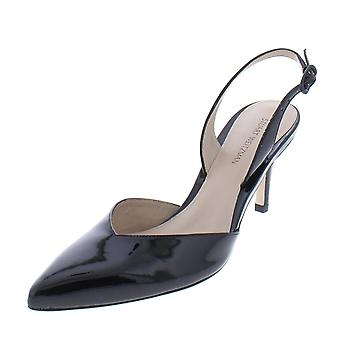 Stuart Weitzman Womens Sleek Solid Pumps Slingback Heels