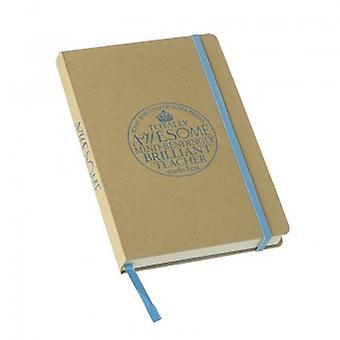 Totally Awesome Teacher Notebook from Heaven Sends | Teacher Gift