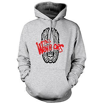 Mens Hoodie - Krieger - Logo - Kultfilm