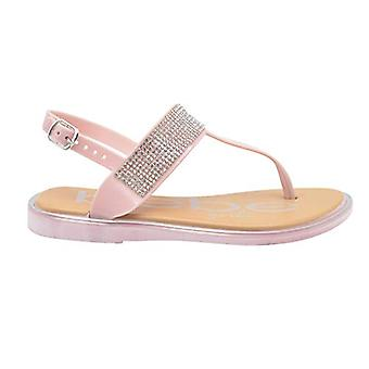 bebe Girls Sandal Little Kid T-Strap Dress Slip On Summer Shoe With Rhinestone Strap Bebe Girls Sandales Little Kid T-Strap Dress Slip On Summer Shoe With Rhinestone Strap Bebe Girls