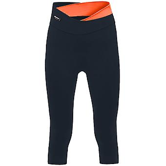 Santini Black-Orange 365 Sfida 3-4 Damen Radsport Hose