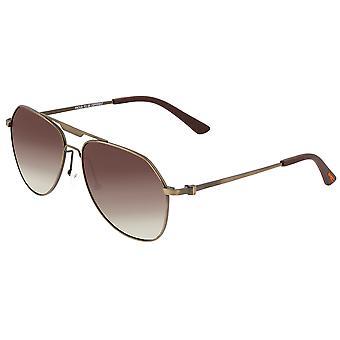 Breed Mount Titanium Polarized Sunglasses - Bronze/Brown