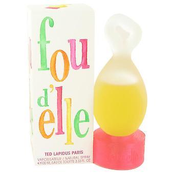 Fou D'elle Eau De Toilette Spray By Ted Lapidus 98 ml