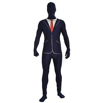 Bristol Novelty Unisex Business Suit Disappearing Man Costume