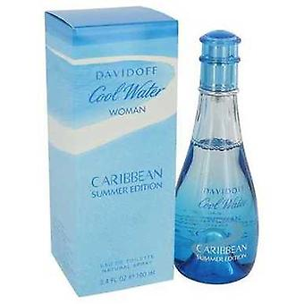 Cool Water Caribbean Summer By Davidoff Eau De Toilette Spray 3.4 Oz (women) V728-541786