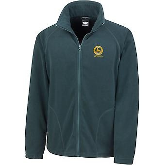South Wales Borderers Veteran - Licensed British Army Embroidered Lightweight Microfleece Jacket