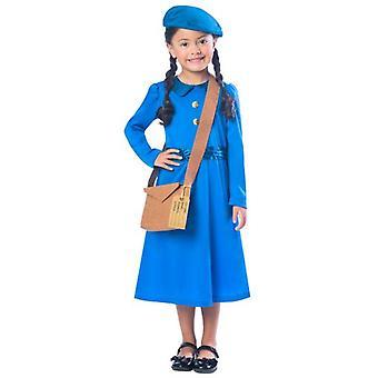 Amscan Waisenmädchen Kostüm blau (Babys und Kinder , Kostüme)