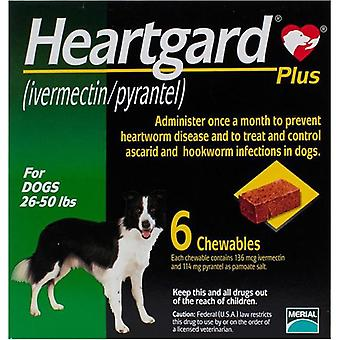 Heartgard Plus For Dogs 12-22kg - 6 Chewables